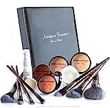 MEDIUM SKIN Mineral Powder Makeup Kit 14 Piece...