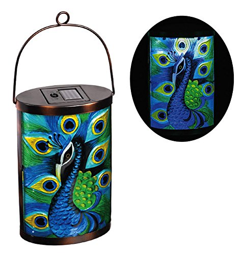 Peacock Solar Garden Light in US - 4