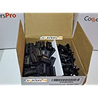PC Accessories - Connectors Pro 50-Pack 2X8 16P 2.54mm Dual Rows IDC Sockets for Flat Ribbon Cable, 16 Pins FC Female Connector