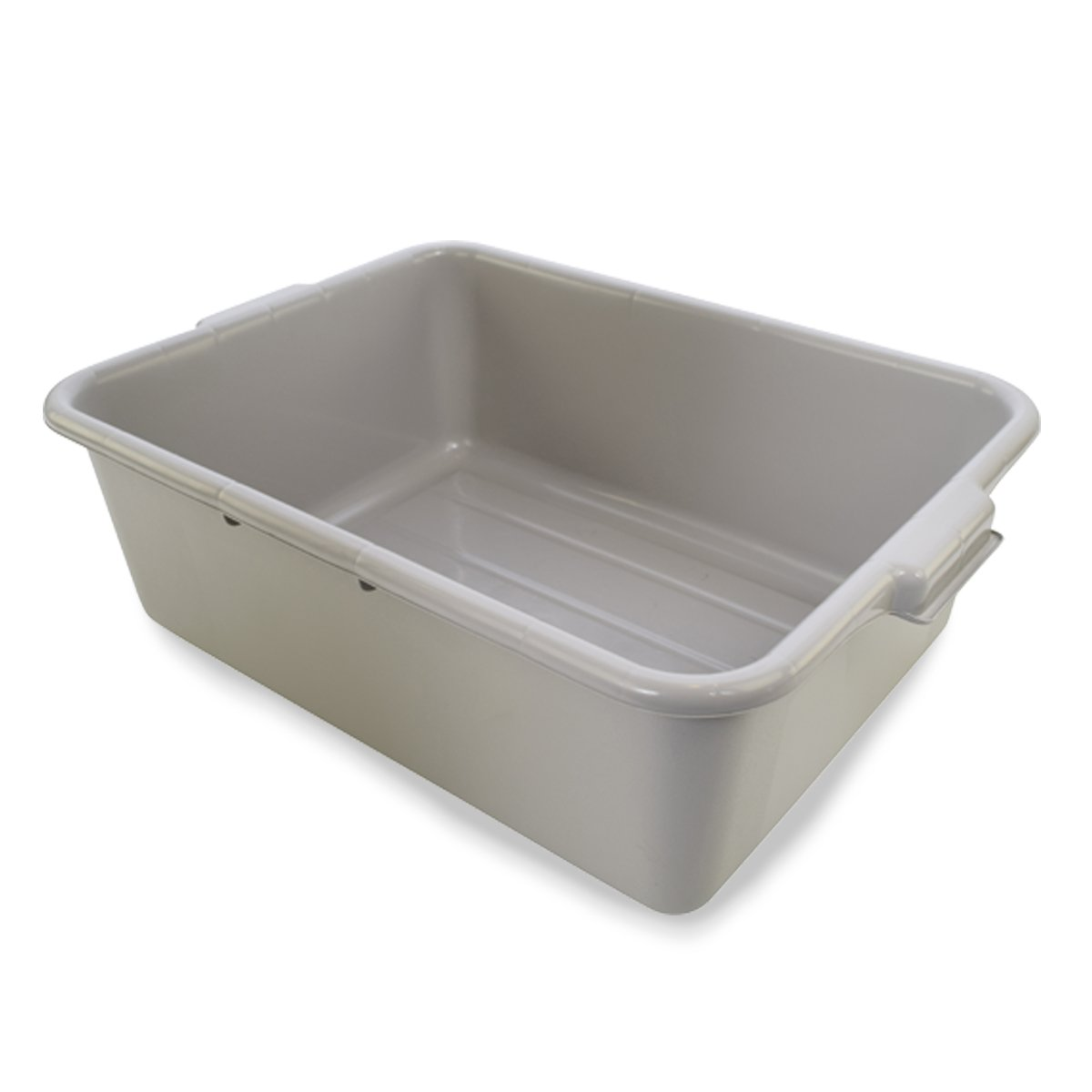 """UltraSource Food Approved Bus Tote, 20"""" x 15"""" x 7"""", Gray"""