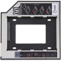 9.5mm Universal 2.5 2nd 9.5mm Ssd Hd SATA Hard Disk Drive HDD Caddy Adapter Bay For Cd Dvd Rom Optical Bay