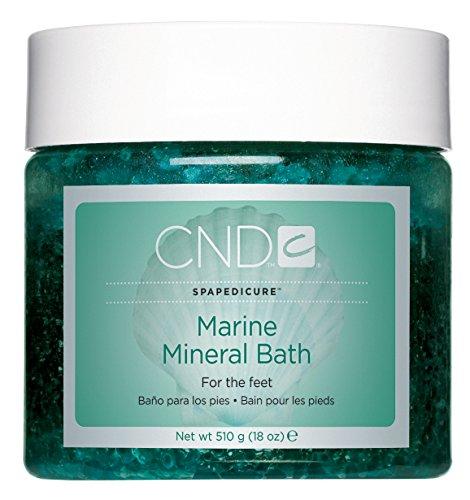 CND Marine Mineral Bath, 18 Oz Aromatherapeutic Mineral Bath