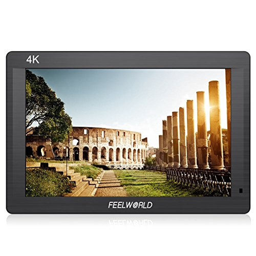 Feelworld FH7 7'' IPS Full HD 1920x1200 4K HDMI Input/ Output On-camera Monitor with Histogram Focus Assist Zebra False Colors FH7 by FEELWORLD