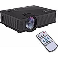 ElementDigital Portable Projector UNIC UC46 Plus LCD Projector 1200 Lumens WiFi VGA HDMI Projector Ezcast Airplay Wireless WIFI Portable Home Movie Projector Business-grade Device