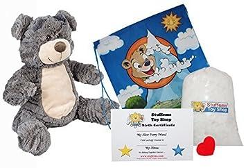 Amazon graham the cracker bear 16 make your own stuffed animal graham the cracker bear 16 make your own stuffed animal no sew kit solutioingenieria Choice Image