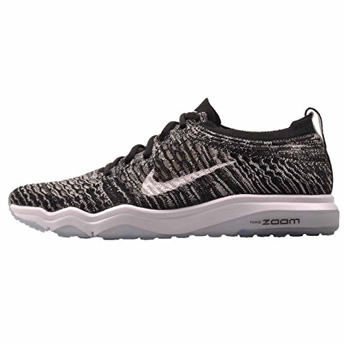Nike Femmes Wmns Air Zoom Redoutable Flyknit Noir / Blanc