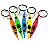 Kayak keychain Ring Hearts for Couples B