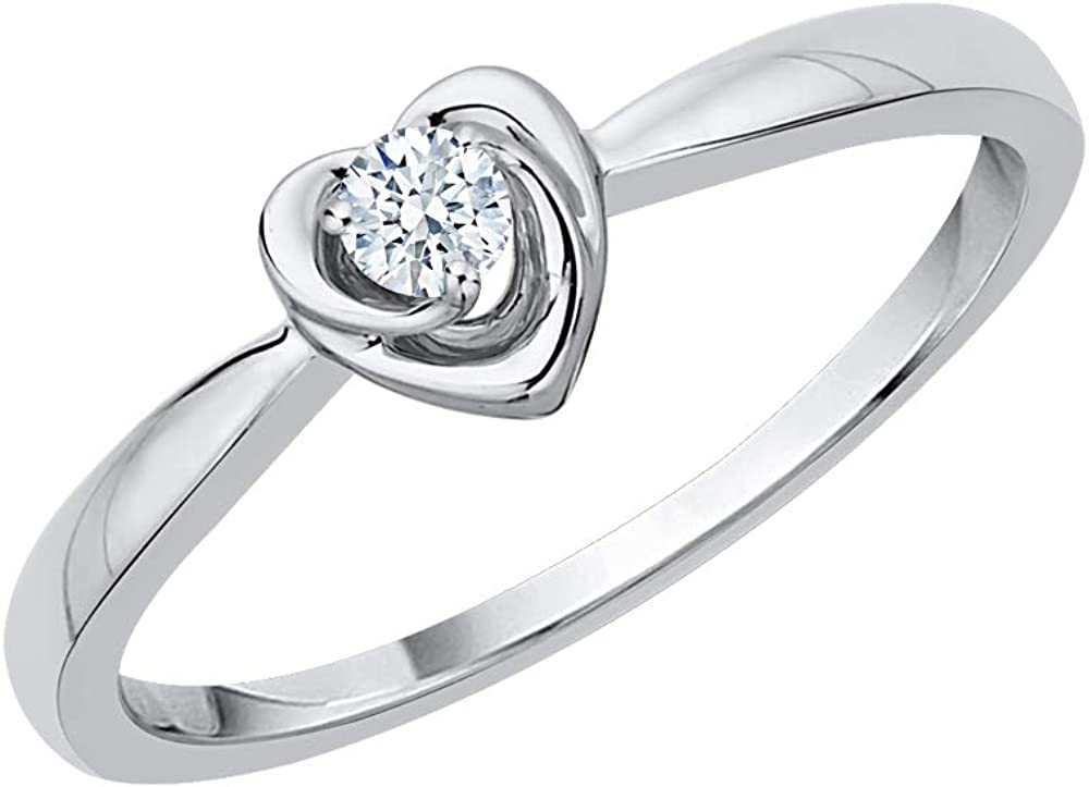 Size-12.25 1//20 cttw, Diamond Wedding Band in Sterling Silver G-H,I2-I3