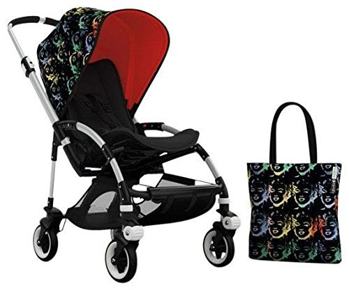 Bugaboo Bee3 Accessory Pack - Andy Warhol Marilyn/Orange (Special Edition)