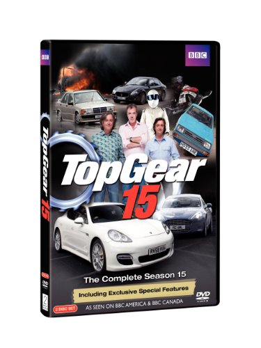 DVD : Top Gear 15: The Complete Season 15 (2 Disc)