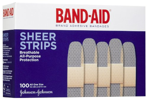 Kendall Curity Sheer Bandages - 1