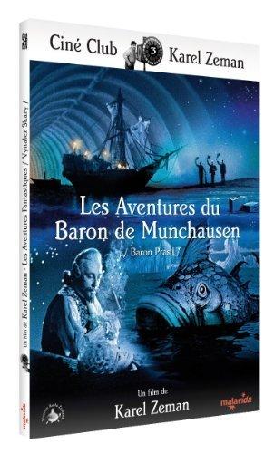 The Fabulous Baron Munchausen (1961) ( Baron Práail ) ( The Original Fabulous Adventure of Baron Munchausen ) by Milos Kopecký