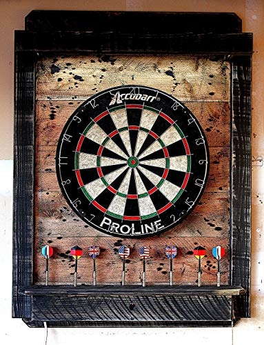 - Dart Board Cabinet Light LED - Dartboard Backboard Throw Line Laser - Electronic Dartboard backboard Wi-Fi Voice App