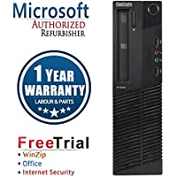Refurbished - Lenovo ThinkCentre M82 Small Form Factor M82 Intel Core Intel Core I5-3470 3.2GHz, 8GB DDR3 Memory, 2TB Hard Drive, DVD, Windows 7 Professional 64-Bit , 1 Year Warranty