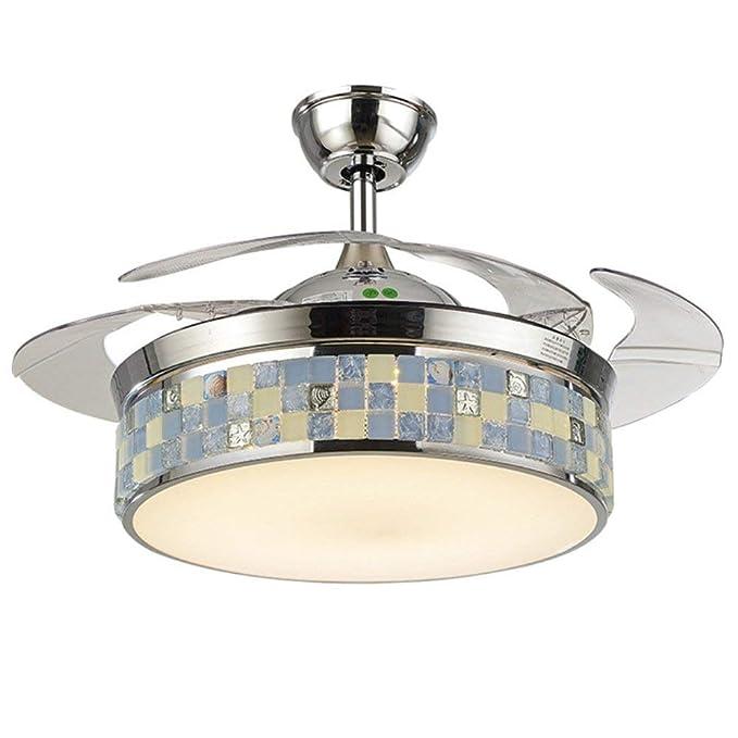 Amazon.com: RS Iluminación LED invisible Ventilador de techo ...