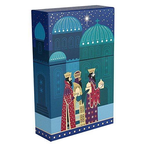(Hallmark Christmas Boxed Cards, Three Wise Men (16 Christmas Cards with Envelopes))