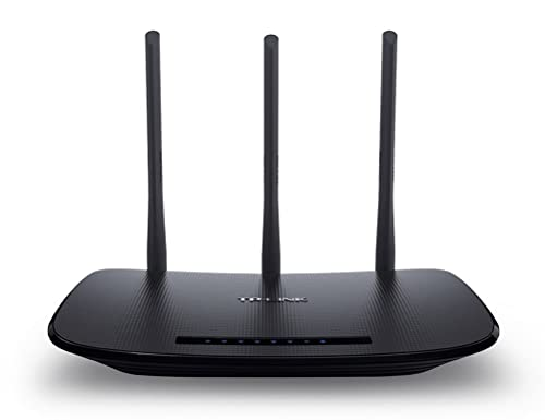 TP-Link 450 Mbps Wireless N Cable Router, Easy Setup, WPS Button, UK Plug (TL-WR940N)