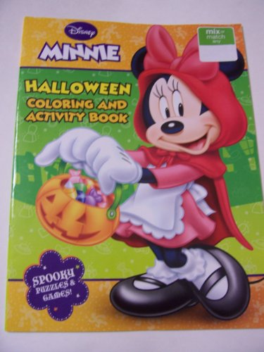 Disney Minnie Mouse Bow-tique Holiday Coloring & Activity Book ~ Halloween (Trick or Treat with Minnie)
