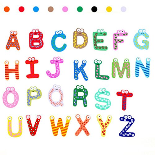 Leegor 26 Letters Fridge Magnet kid Baby Educational Toy Bath Toy Christmas Toys