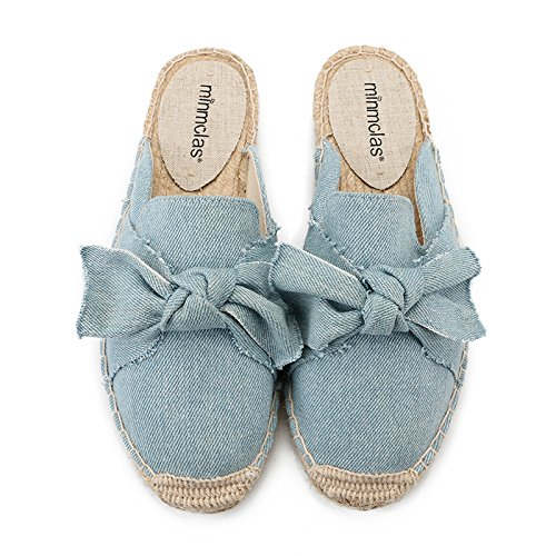 Segeltuchschuhe - Alpargatas de Sintético para Niña, Color Azul, Talla 10: Amazon.es: Zapatos y complementos