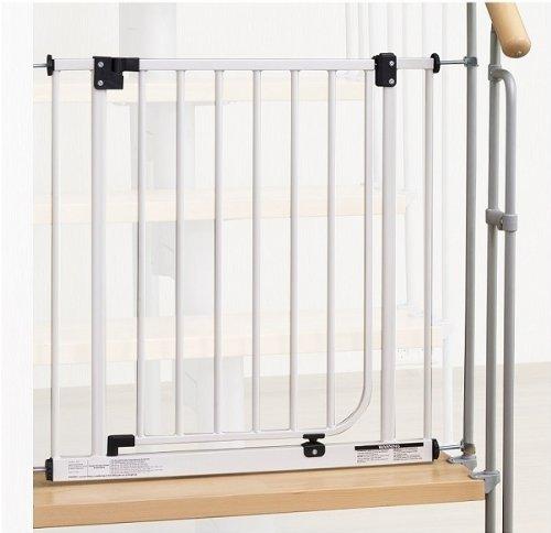 IMPAG ® Treppenschutzgitter Easy Step für Geländer | inkl. 2 Y-Adapter für 73cm - 142cm | ohne Bohren | einfache Montage | Treppen-Gitter Baby Kleinkind Hund Impag GmbH