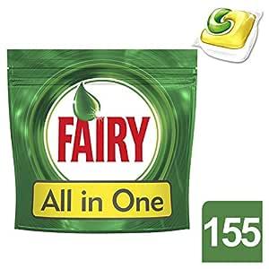 Fairy Caps para lavavajillas Original - 5 paquetes de x 31 ...