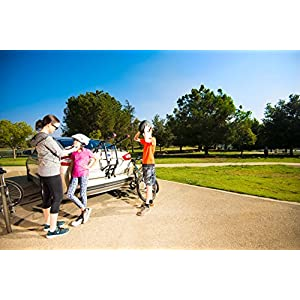 Allen Sports Deluxe Trunk Mount 3-Bike Carrier