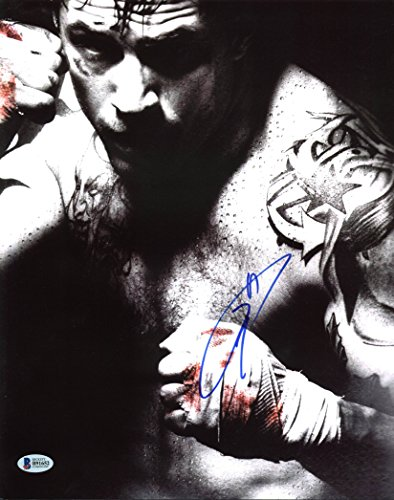 Tom Hardy Warrior Authentic Signed 11X14 Photo Autographed BAS #B91652