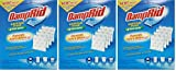 Damprid Fg92 Moisture Absorber Easy-fill System Refill, 4-10.5-ounce Packets (3 Pack)