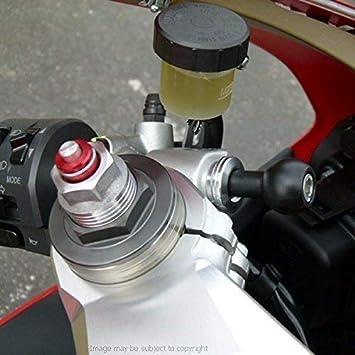 BarBaren Base de Ram Mount Bola de Montaje para Ducati Panigale V4 Panigale V4S Panigale 899 959 1199 1299