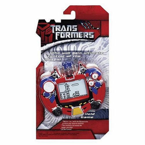 Transformers Handheld Electronic Game by Hasbro