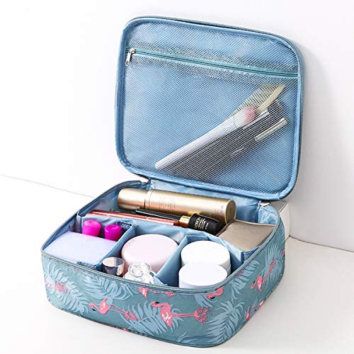 (Makeup Bag Travel Cosmetic Bag for Women Girls,Make Up Organizers And Storage for Cosmetics Accessories, Large-capacity, Water-proof, Antimicrobial)