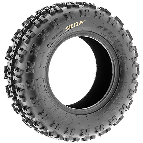 Set of 4 SunF A027 ATV Tire 22x7-10 Front & 22x10-9 Rear by SunF (Image #5)
