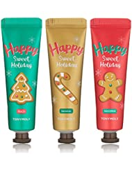 TONYMOLY Holiday Hand Butter Trio