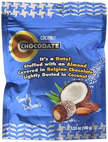 Chocodate Exclusive Pouch with Coconut, 100 GM