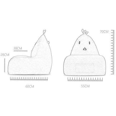 Amazon.com: Zcx Lazy - Puf para sofá, creativo diseño de ...