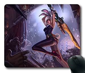 Customizablestyle League of Legends Riven Mousepad, Customized Rectangle DIY Mouse Pad