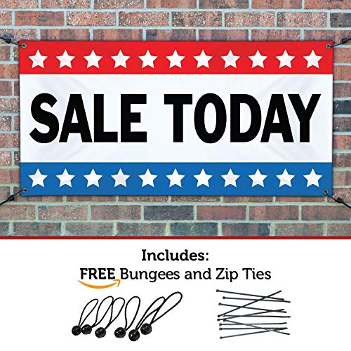 (SALE TODAY Banner 3ftX8ft)