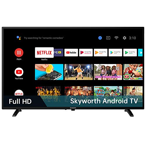 Skyworth S3G 32-Inch 720P HD Smart LED TV, Quad-CORE Android TV with Voice Control, Google Assistant Built-in, Also Work…