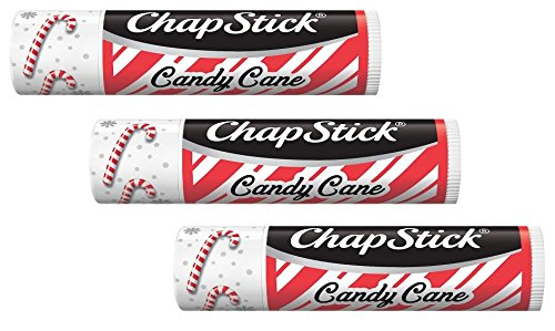 Price comparison product image ChapStick Candy Cane Pack of 3 - NEW DESIGN