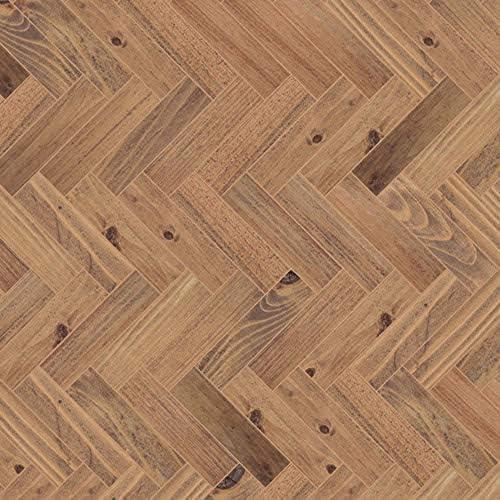 Dolls House Light Pine Floorboards Miniature 1:12 Flooring Gloss Card Sheet