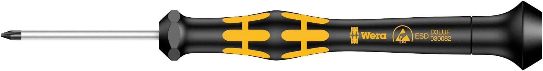 Wera 05030083001 1572 ESD Tournevis Kraftform MicroMicrostix Noir//jaune 0 x 40 mm