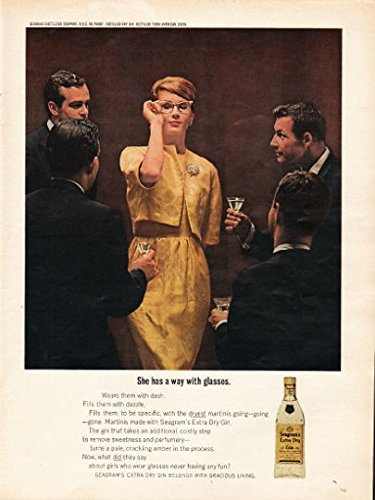 1962 Seagram's Extra Dry Gin Ad