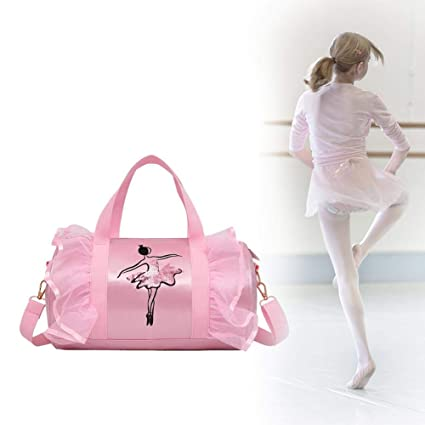 Personalised Girl s Ballet Dance Bag Cross-Body Bags Shoulder Bags For  Ballerina Latin Dancer Girls  Amazon.co.uk  Kitchen   Home a7ebfc424d30