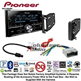 Volunteer Audio Pioneer MVH-S600BS Double Din Radio Install Kit with Bluetooth USB/AUX Fits 2009-2010 Ram 2011-2014 Chrysler 200 (REF, REC, and RAK Factory Radios)