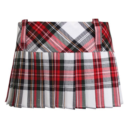 Jupe Femme Unique Other Taille blanc Rouge Tartan wpqEEgdU