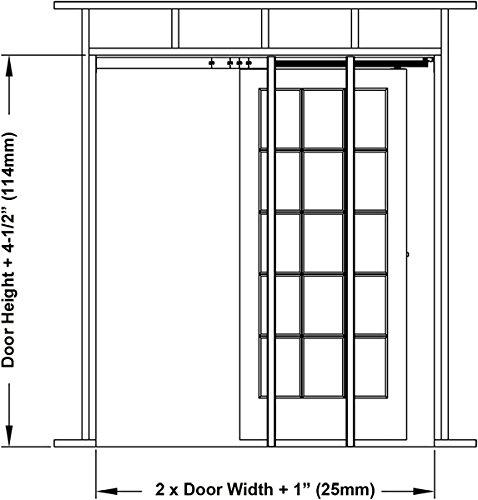 1500 commercial grade pocket door frame 36 x 96 new for 1500 series pocket door frame