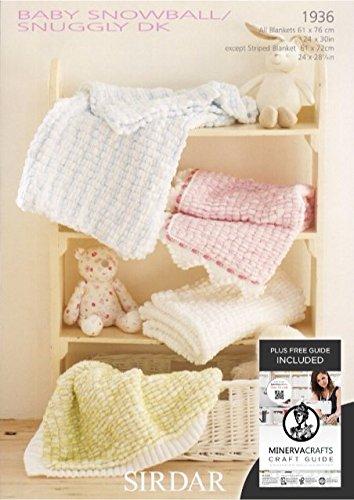 Sirdar Baby Snowballsnuggly Dk Baby Shawl Blanket Knitting Pattern