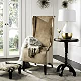 Safavieh Mercer Collection Stella Velvet Side Chair, Bronze