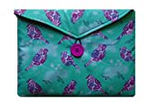 Mint and Plum Birds Print Kindle Fire 7'' Bag for Amazon Kindle HD8 Tablet